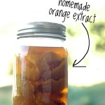 Make it Yourself: Homemade Orange Extract