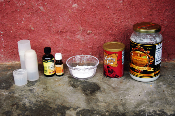 Homemade Natural Deodorant That Works!